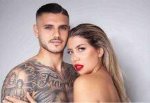 Wanda Nara e Mauro Icardi (facebook)